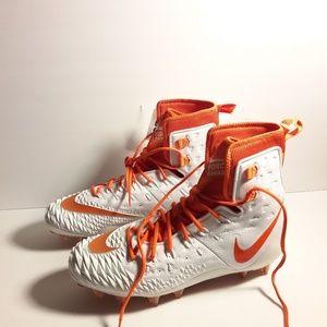 Nike Force Savage Orange/White Size 14 880140-188